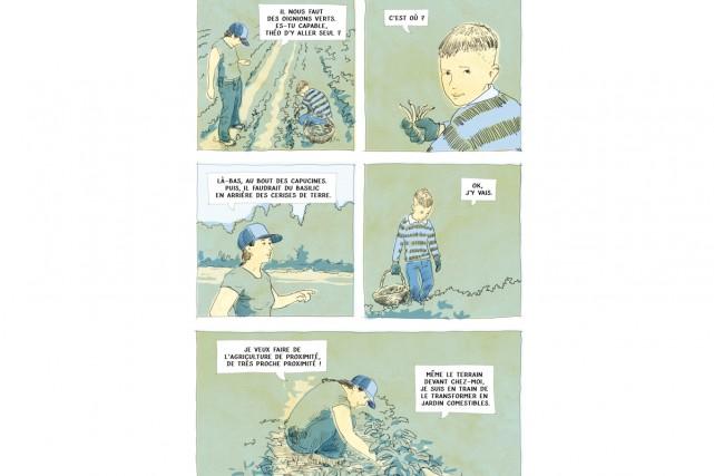 Construit comme une bande dessinée en version livre,... (illustration fournie)