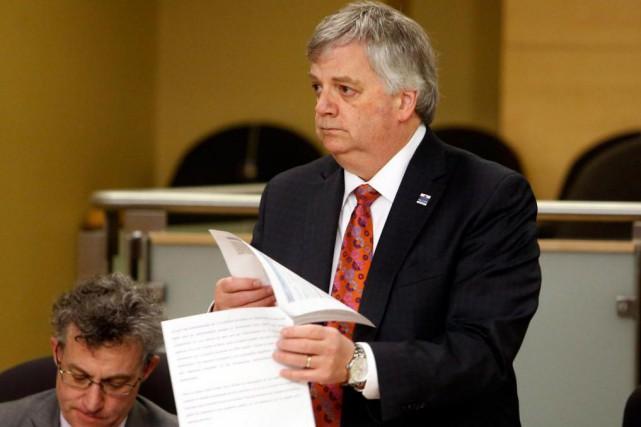 Le directeur parlementaire du budget, Jean-Denis Fréchette.... (Archives, La Presse canadienne)