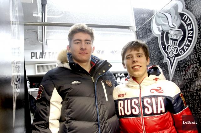 Yakov Trenin et Vitalii Abramov goûteront tous les... (Patrick Woodbury, Archives Le Droit)