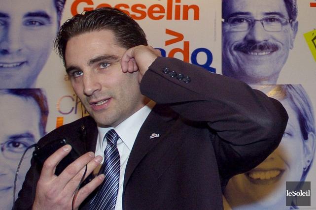 Jean-François Gosselin, sur une photo remontant à 2007.... (Photothèque Le Soleil)