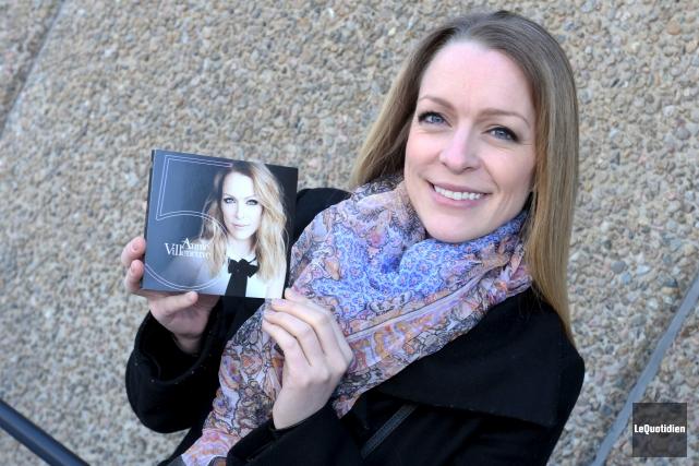 Annie Villeneuve présente son cinquième album en carrière.... (Photo Le Quotidien, Michel Tremblay)