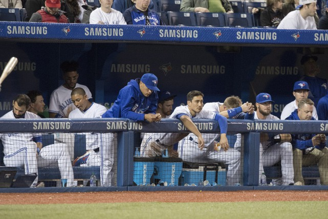Les Blue Jays montrent maintenant un dossier de... (Photo Fred Thornhill, La Presse canadienne)