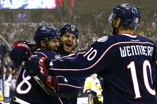 Avec cette victoire des Blue Jackets, les Penguins... (Photo Russell LaBounty, USA TODAY Sports)