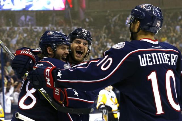 Avec cette victoire des Blue Jackets, les Penguins... (Photo Russell LaBounty, USA TODAY Sports)