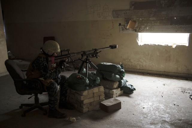 «Les combattants de Daech sont à portée de... (Photo Agence France-Presse)
