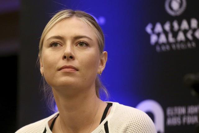 Maria Sharapovareprendra la compétition la semaine prochaine après... (Photo Isaac Brekken, archives AP)