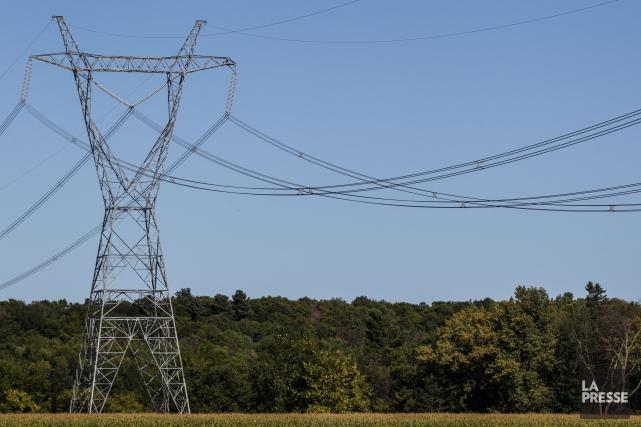 Forêt Hereford demande officiellement à Hydro-Québec d'enfouir la portion de sa... (Archives La Presse)