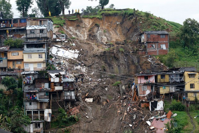 Un nouveau bilan de la Croix-Rouge colombienne fait... (Photo Agence France-Presse/Stringer)