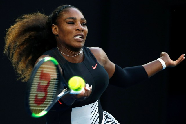 Serena Williams... (Photo Thomas Peter, archives Reuters)