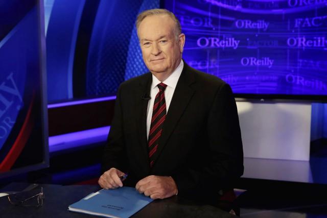 Bill O'Reilly avait signé récemment un nouveau contrat... (PHOTO AP)