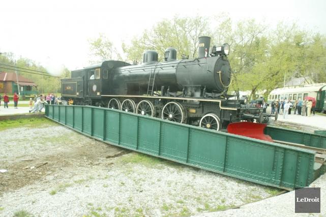 L'avenir du train à vapeur demeure incertain.... (Archives, Le Droit)