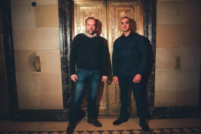 Valentin Van Beek et Nazim Tedjini, de La... (Photo fournie par La Voûte)