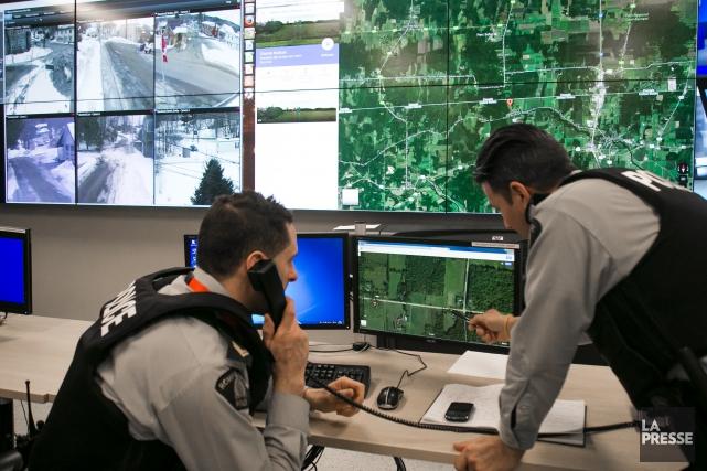 Au Québec, la GRC a intercepté 644 personnes... (Photo Martin Tremblay, archives La Presse)