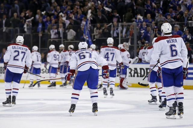 Les joueurs du Canadien ont reconnu avoir été... (Photo Adam Hunger, archives USA Today Sports)