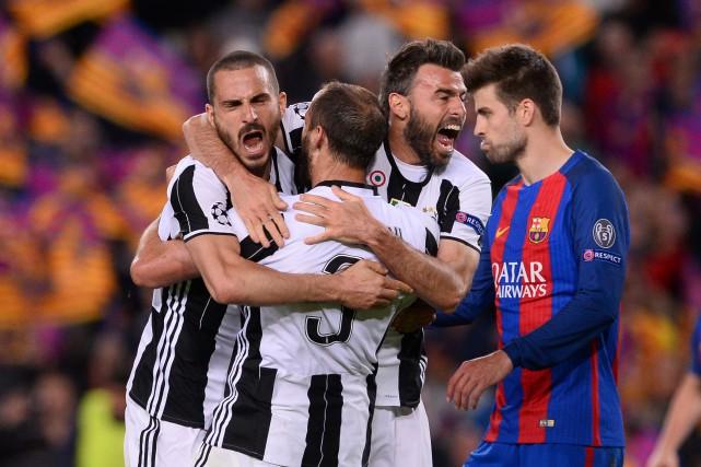 La Juventus de Turin s'est assurée que le FC Barcelone se retrouve à court de... (Photo Josep Lago, AFP)