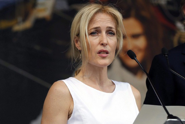 Gillian Anderson... (ARCHIVES AP)