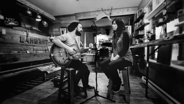 Alexandre Leclerc et Joëlle Roy du groupe Phonz... (Photo fournie par Télé-Québec)