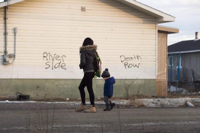 Au chapitre des services d'aide à l'enfance dans... (PHOTO Nathan Denette, ARCHIVES LA PRESSE CANADIENNE)