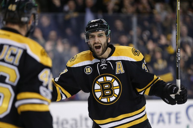 Patrice Bergeron... (Photo Greg M. Cooper, archives USA TODAY Sports)