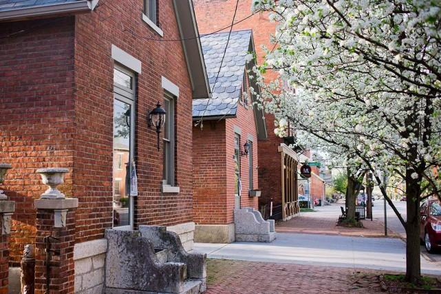 Une promenade dans les rues bordées de coquettes... (Fournie par Experience Columbus)