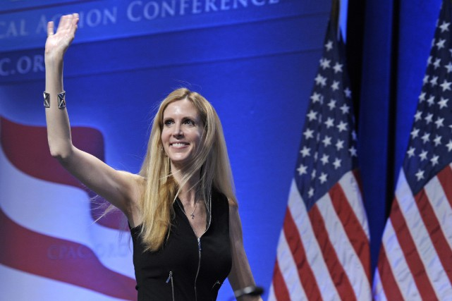 Ann Coulter est reconnue pour ses diatribes controversées... (ARCHIVES AP)