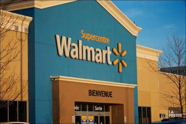 Walmart Canada comptait environ 91 000 employés -... (PHOTO ANDRÉ PICHETTE, ARCHIVES LA PRESSE)