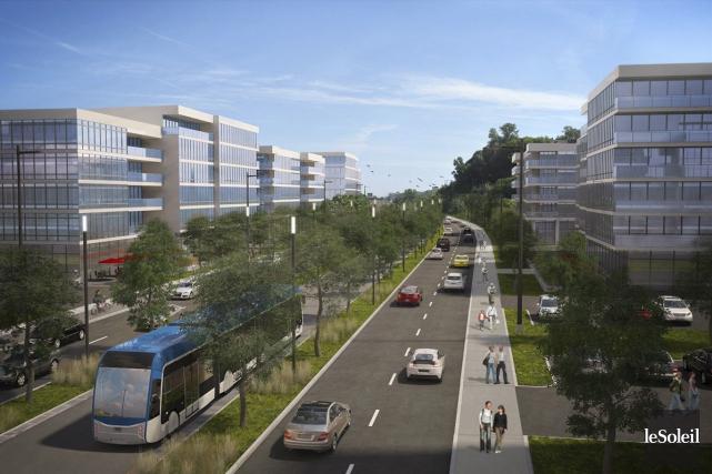 Malgré l'abandon du projet par la Ville de... (Photothèque Le Soleil)
