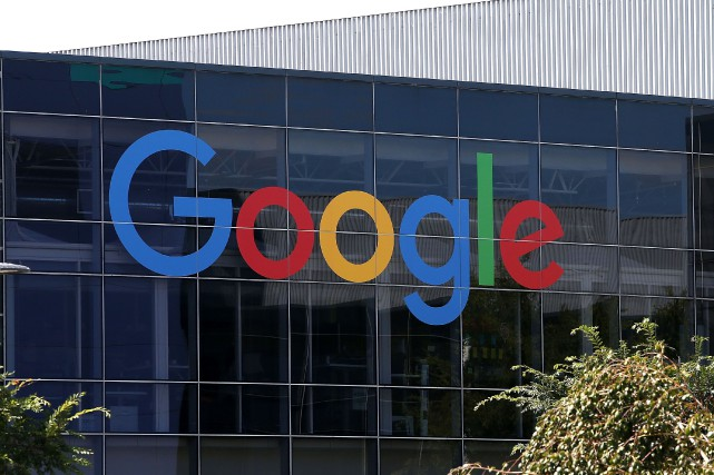 Le géant technologique Google fait partie des signataires... (PHOTO ARCHIVES AFP/GETTY IMAGES)