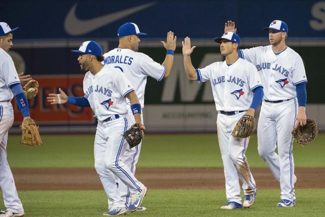 Les Blue Jays de Toronto ont signé un... (PHOTO Nick Turchiaro-USA, TODAY Sports)