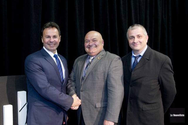 L'aide financière de Québec qui servira à financer... (Sylvain Mayer, Le Nouvelliste)