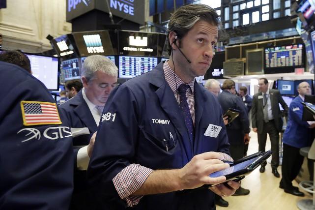 La Bourse de New York n'a pas semblé... (AP)