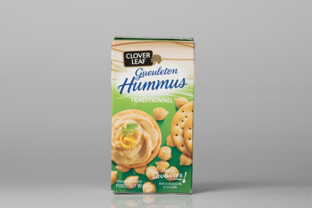 Gueuleton hummus traditionnel, 2,39 $ pour 99 g... (Photo Ivanoh Demers, La Presse)