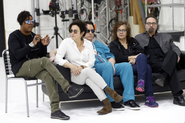 BrownMark, Wendy Melvoin, Matt Fink, Lisa Coleman et... (Photo Jim Mone, Associated Press)