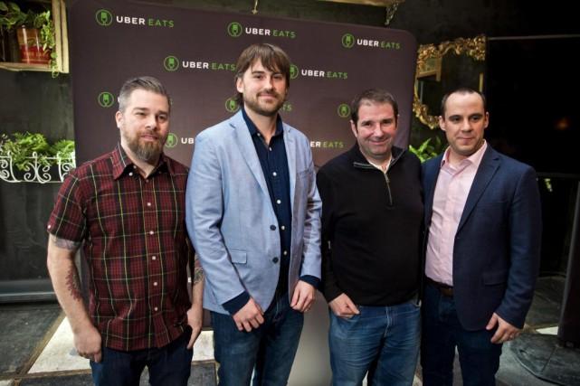 Alex Bastide, propriétaire des L'Gros Luxe, Greg Perowne,... (PHOTO ANDRÉ PICHETTE, LA PRESSE)