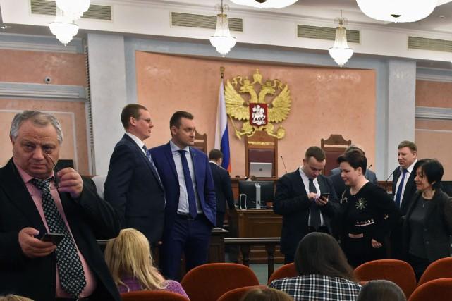 La Cour suprême de Russie à Moscou, le... (Photo AFP)