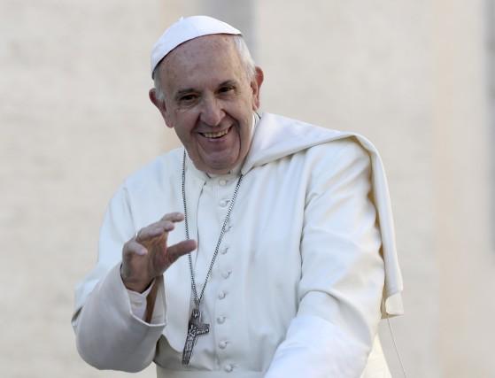 Le pape François... (Associated Press)