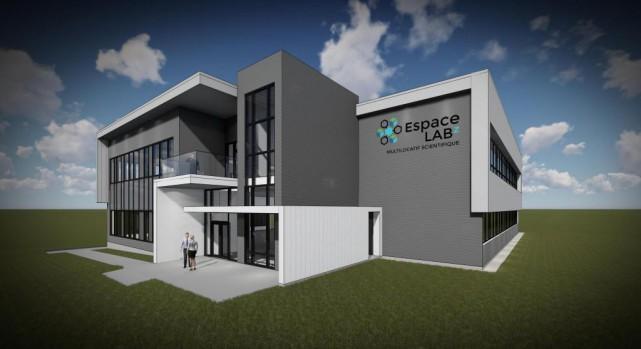 L'incubateur scientifique EspaceLabz accueillera sespremiers locataires cetété.... (Image fournie par Sherbrooke Innopole)