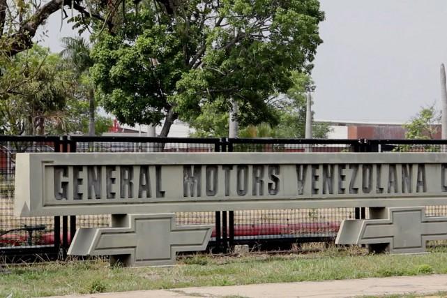 L'usine a été «saisie de façon inattendue par... (PHOTO AFP TV / Marcos GUEDEZ)