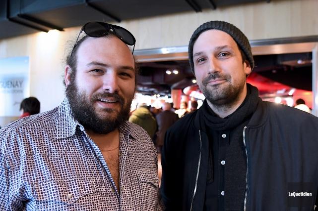 Jean-Marc E. Roy et Philippe David Gagné sont... (Archives Le Quotidien, Rocket Lavoie)