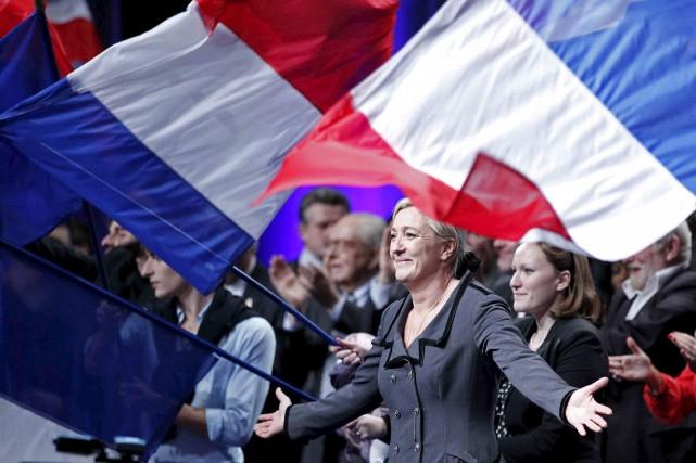 La candidate du Front national, Marine Le Pen... (Reuters)