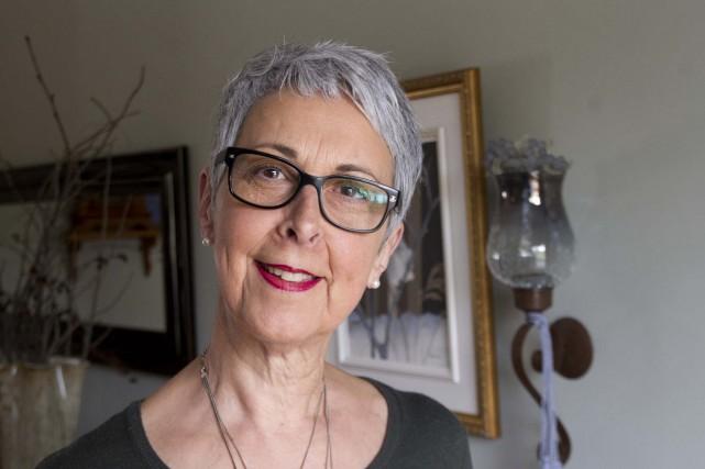 Diane Boisvert a été sauvée par une greffe... (Sylvain Mayer, Le Nouvelliste)