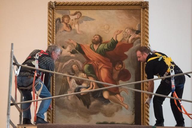 Le tableau L'Apothéose de saint Paul ou Le... (François Gervais, Le Nouvelliste)
