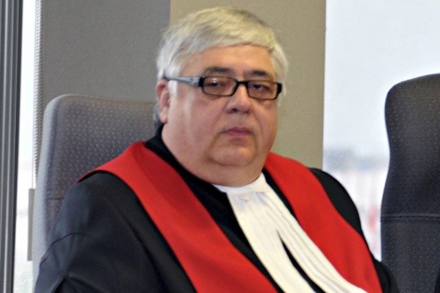 Le juge Pierre Simard...