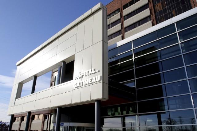 Le centre de prélèvements de l'hôpital de Gatineau... (Patrick Woodbury, Archives Le Droit)