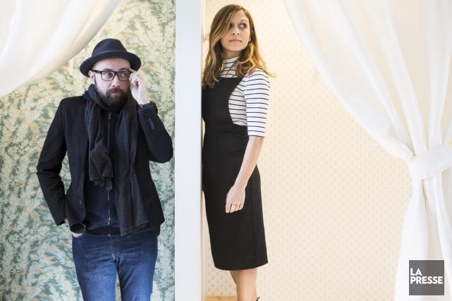 David Méliès et Francesca Como forment le duo... (La Presse, Olivier Pontbriand)