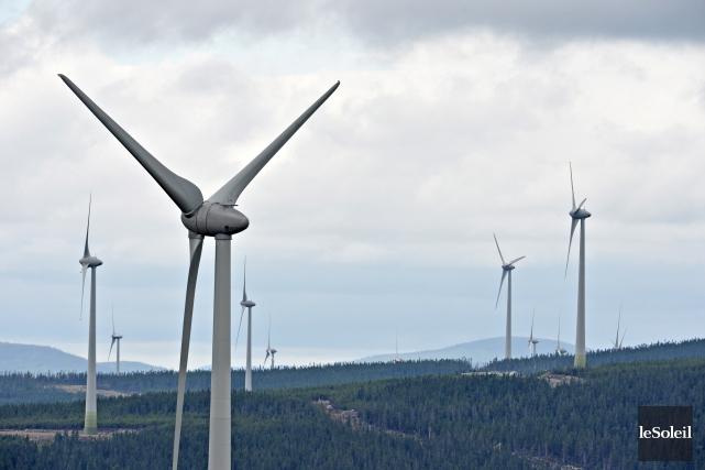 L'industrie de l'énergie éolienne est plus que jamais... (Photothèque Le Soleil, Pascal Ratthé)