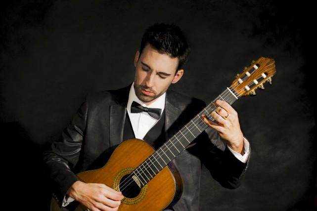 Le guitariste classique originaire de Cowansville Thierry Bégin-Lamontagne... (Fournie)