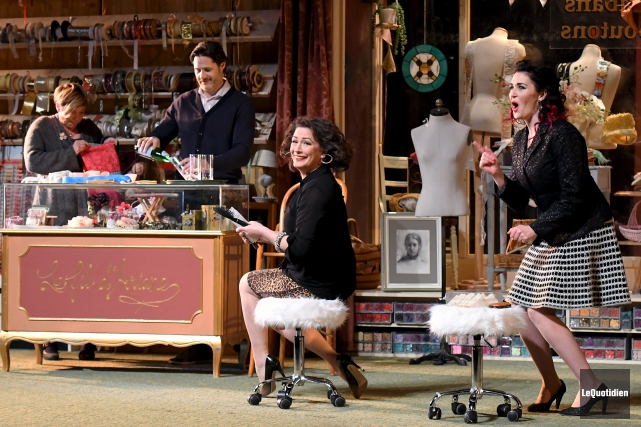Marie-Chantale Perron,Frédérick DeGrandpré, Anick Lemay et Tammy Verge... (Photo Le Quotidien, Rocket Lavoie)