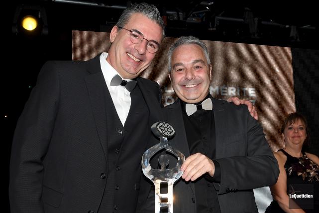 Métatube a remporté les prix Dubuc Entreprise de... (Photo Le Quotidien, Rocket Lavoie)