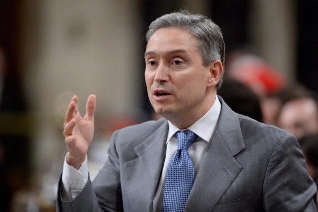 Le ministre du Commerce international François-Philippe Champagnea décidé... (PHotoAdrian Wyld, archives La Presse canadienne)